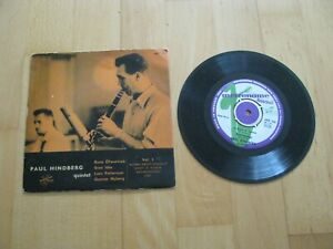 Paul Hindberg Quintet Vol. 3 Metronome Records Sweden 1955 Vinyl 7