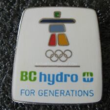 2010 Vancouver Winter Olympic BC Hydro For Generations Pin