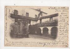 Saint Jean De Luz Douane Fontaine & Couvent France 1900 Postcard 505b