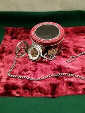 Kansas City Railroad Pocket Watch with Tin, Inspired by Jesse James