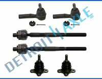 16mm Threads Torsion Bar Only New 6pc Inner//Outer Tie Rod End Links Ball Joint