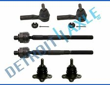 New 6pc Inner/Outer Tie Rod End Links Ball Joint - 16mm Threads Torsion Bar Only