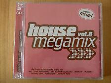 HOUSE MEGAMIX VOL. 8 --- 64 FINEST HOUSE TRACKS MIXED --- 2 CD