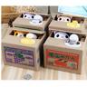 Kawaii Gato Hucha Caja de Dinero Lindo Automático Furtivo Lindo Ahorros Niños