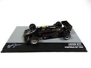 Formule 1 Lotus 97T Ayrton Senna Vainqueur GP Portugal 1985 1/43 Voiture F1 709