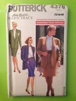 Butterick Sewing Pattern 4378 Misses Ladies Jacket Skirt Ellen Tracy 12-16