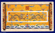 """Canada - """"CHINESE ZODIAC ~ YEAR OF THE DRAGON"""" Embossed MS 2000 !"""