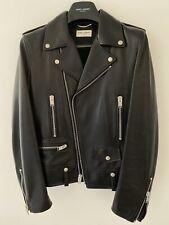 Saint Laurent L01 Leather Jacket, 2013 Tagged, Size 48