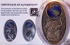 10 $ Fiji 2012 -Maya Apocalypse II silver coin - as Tiffany, Mineral,Crystal Art
