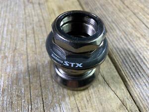 SHIMANO STX HP-MC31 THREADED HEADSET 1-1/8 FORK 30mm RACE 34mm CUPS OD MTB NOS