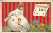 BG8679 child egg embossed  easter ostern greetings uk