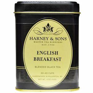 Black Tea, English Breakfast Blended, 4 oz (112 g)
