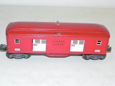 Lionel O Ga. #2602 Baggage Tinplate Passenger Car Restored