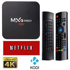 Tv Box MXQ PRO 4K Android 6.0 S905X Quad Core 1G RAM 8G ROM  HASTA 128 GB