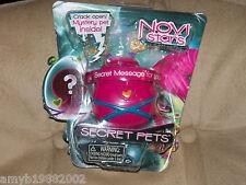 Novi Stars Secret Pets Pink Case NEW LAST ONE HTF FREE USA SHIPPING