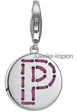 Esprit Damen Charm ES-Letter Fabric P ESCH91138A000 925 Silber neu
