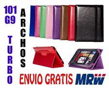 FUNDA  ARCHOS 101 G9 TURBO - MEDIDA ESPECIAL - 8 COLORES - UNIVERSAL