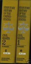 Statutory History of the United States Civil Rights volumes 1 & 2 (1970)
