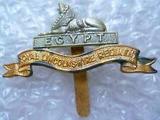 Badge- Royal Lincolnshire Regiment Cap Badge- Lincoln (Bi-Metal, Genuine*)