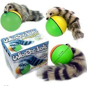 Original Weazel Weasel Ball Prank Gift Fun Toy for Dog Cat Pets Children Kid Fun