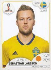 482 SEBASTIAN LARSSON SWEDEN HULL CITY.AFC STICKER WORLD CUP RUSSIA 2018 PANINI