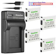 Kastar Battery Slim Charger for Canon NB-11L NB-11LH & Canon IXUS 180 IXUS 185