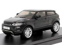 Range Rover Evoque 3 Door Black 1:43 Scale Dealer Model Car by IXO Models