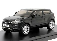 Range Rover Evoque 3 Door Black 1:43 Scale Dealer Model Car by IXO Models