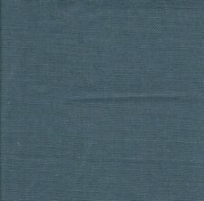 LIBECO LAGAE 100% BELGIAN LINEN UPHOLSTERY/DRAPERY FABRIC BLUE BY THE YARD