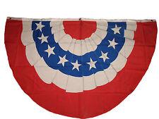 Wholesale Lot 3 Pack 3x5 USA American Stars Stripes U.S. Bunting Fan Flag 3'x5'