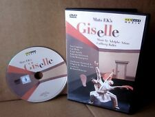 GISELLE Mats Ek DVD ballet Theater of Absurd opera 1987 surreal Vanessa McIntosh