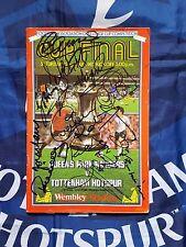 TOTTENHAM HOTSPUR 1982 FA CUP Final Programme v QPR Signed x14 G.HODDLE R Villa