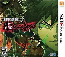 Shin Megami Tensei IV 4 Apocalypse RE-SEALED Nintendo 3DS 3 DS 2 2DS XL GAME