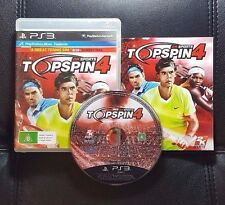 TopSpin 4 Top Spin 4 (Sony PlayStation 3, 2011) PS3 Game - FREE POST