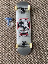"Nos Tony Hawk Birdhouse Skateboard Mini 27.5"" X 7.25"" With Grip Chicken Skull"