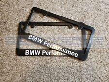 BMW Performance BMW License Plate Frame - Pair