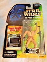 Star Wars Power of the Force POTF2 Freeze Frame Lak Sivrak Blaster Vibro-Blade
