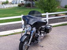 Harley Windshield Touring 8 in Dark Gray Windshield 1996/2013 StreetGlide