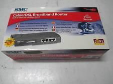 SMC SMC7004ABR Cable/DSL Broadband Router 4-port 10/100Mbps Switch +Print server