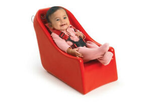 Bye-Bye® Buggy Infant-Soft Seat Durable Unibody Construction Secured Steel Clip