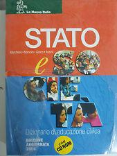 Stato - Marchese / Mancini / Greco / Assini - La Nuova Italia 2004 + cd rom
