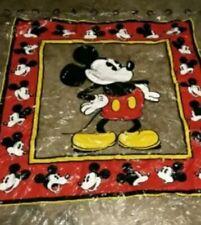 New Vtg Classic Mickey Mouse Disney Shower Curtain Red White Black, Vinyl