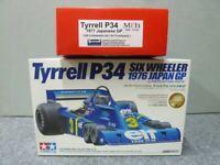 TAMIYA 1/20 Tyrrell P34 '76 Japan GP Model Kit & MFH '77 Japan GP Trans Kit F/S