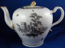 Antique 18thC Royal Vienna Porcelain Scenic Teapot Porzellan Kanne Wien Tea Pot