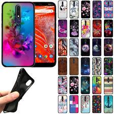 For Nokia 3.1 Plus 2019 6 inch ( International Version) TPU Black Cover Case