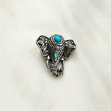 Wholesale Jewelry Turquoise Snaps Chunk Charm Button For Noosa Leather Bracelets