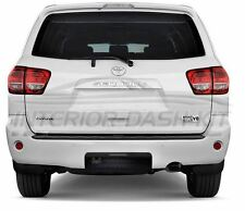 TOYOTA SEQUOIA 2012 2013 2014 2015 2016 2017 2018 CHROME REAR LETTERS INSERTS
