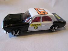 1981 Zylmex #57 Audi 100 Sheriff Police Cruiser Car D42 HK Zee Toys, Dyna-Wheels