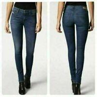 NWT Diesel Women's Skinzee-Low RS030 Super Slim Skinny Stretch Jeans 27 x 32