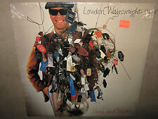 LOUDON WAINWRIGHT Fame and Wealth FACTORY SEALED LP 1983 CutOut SeePics/Detail